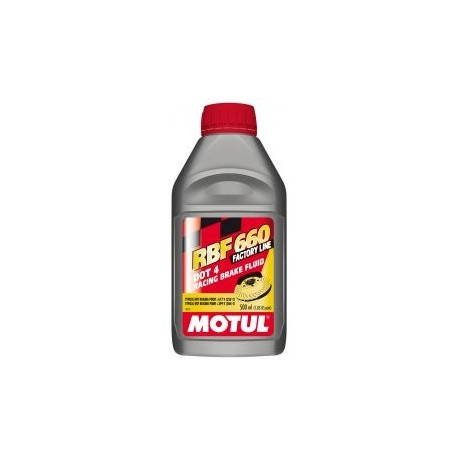 Liquido de Frenos Motul RBF660 Dot 4 500ml