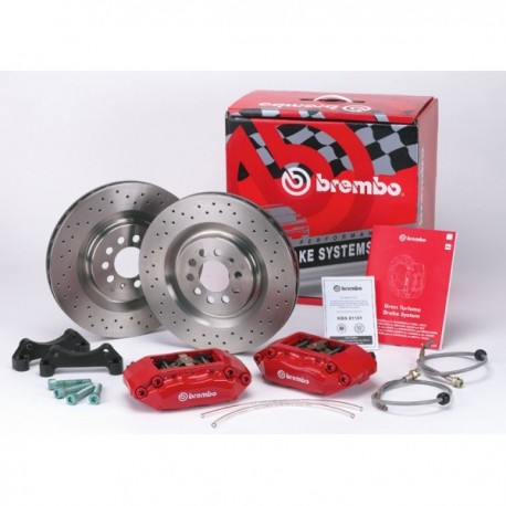 Kit Brembo 4 Pistones 305x28mm