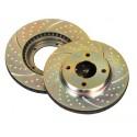 Jgo de Discos EBC GD 256x22mm