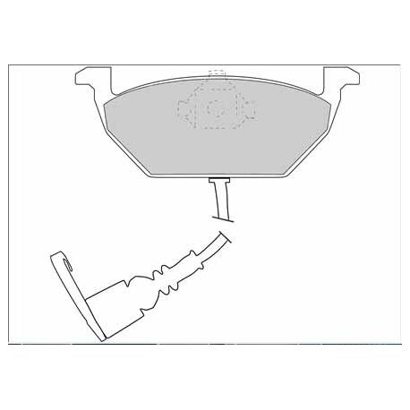 Pastillas Necto AP FD6873A