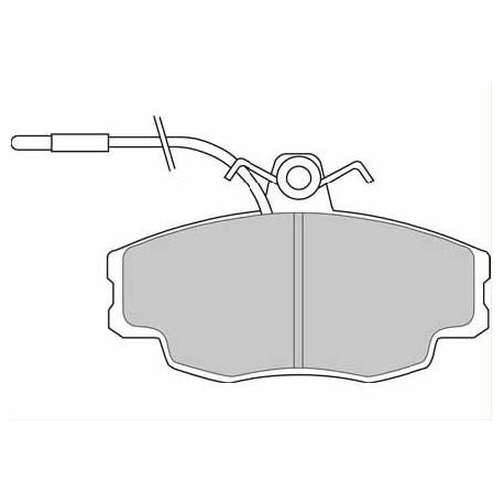 Pastillas Necto AP FD6324A