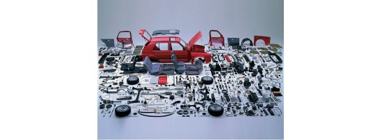 Parts per vehicle